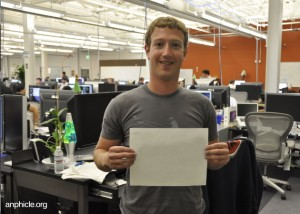 Zuckerburg Blank canvas