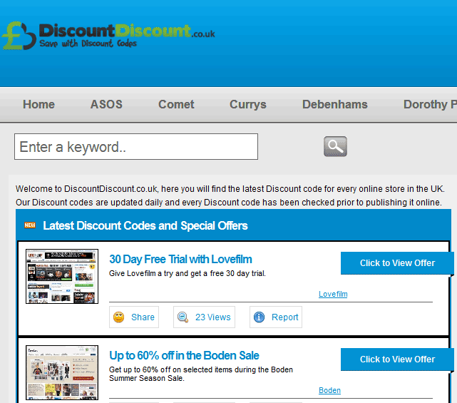 Quickplug: Save with DiscountDiscount